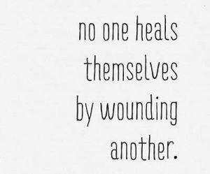 no wounding