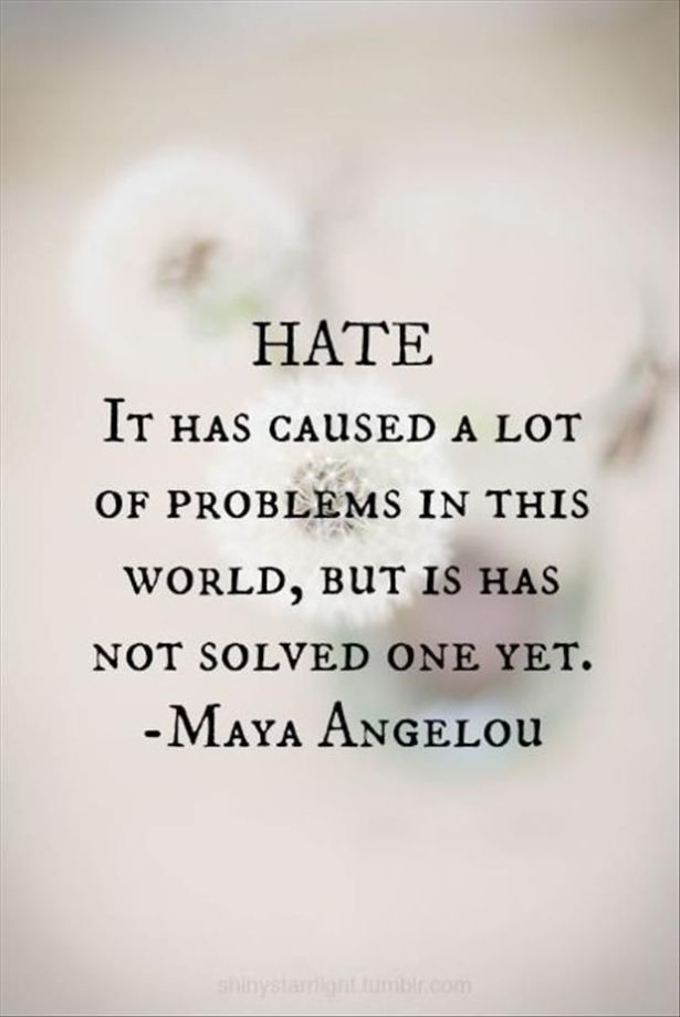 the problem with hate