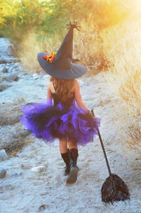 Little Witch via Karen Perry
