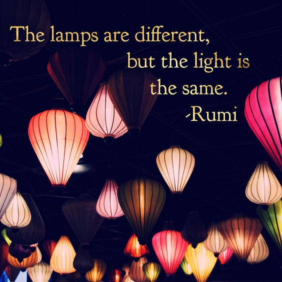 lamps light rumi