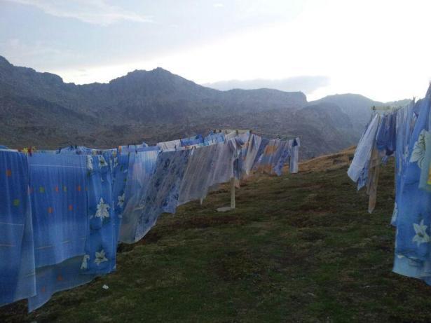 mountain laundry