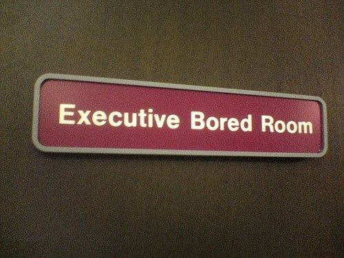 executive bored room