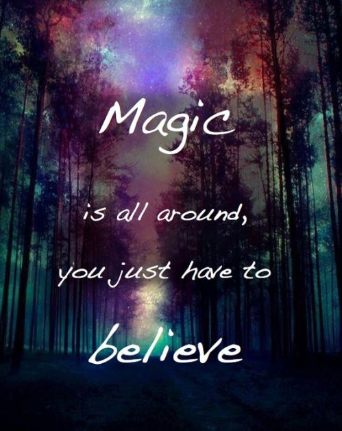 magic all around you