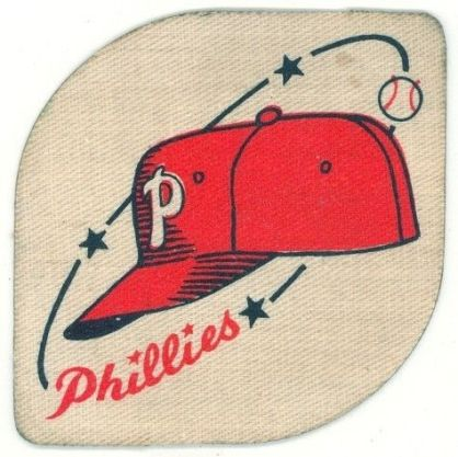 1940-50 Philadelphia Phillies Patch