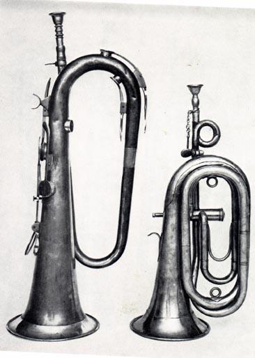 Keyed-bugle-Bersaglierhorn