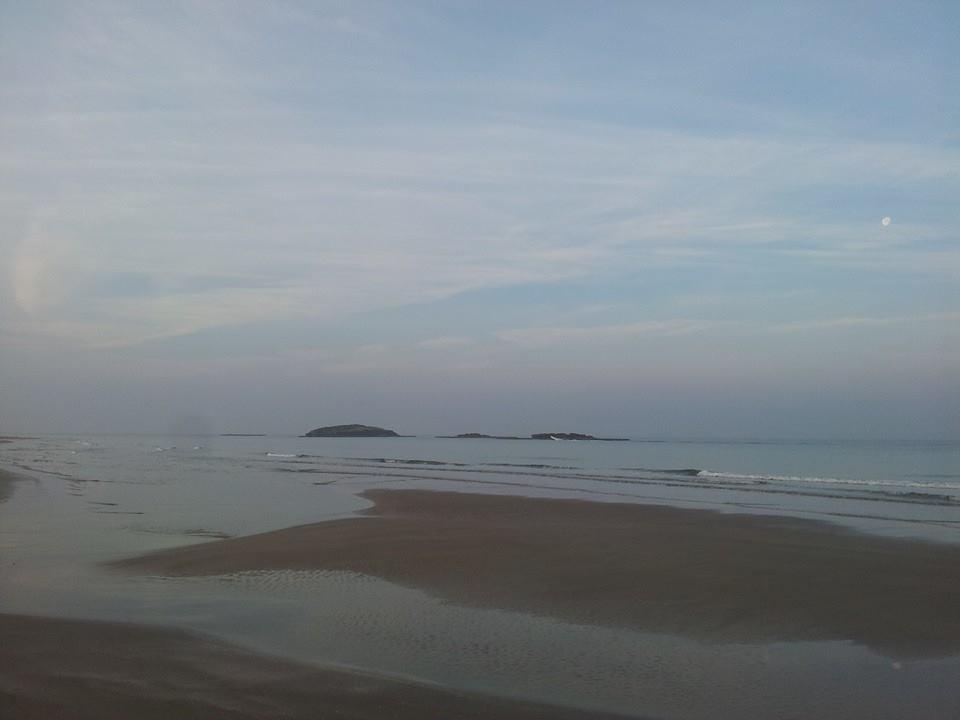 slow low tide