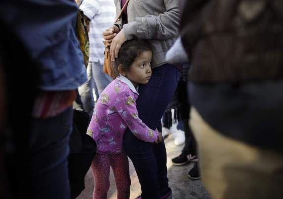 child-us-mexico-border Photo - AP Gregory Bull