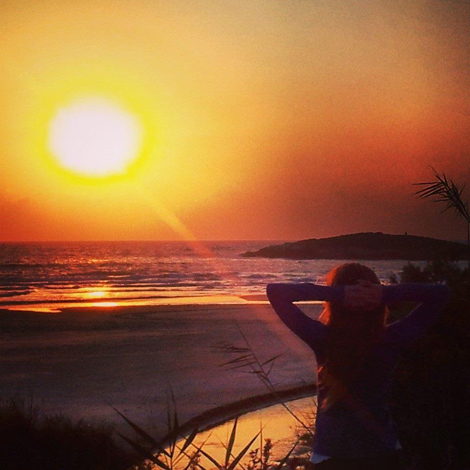 Sunset on Sea DvoraFreedman