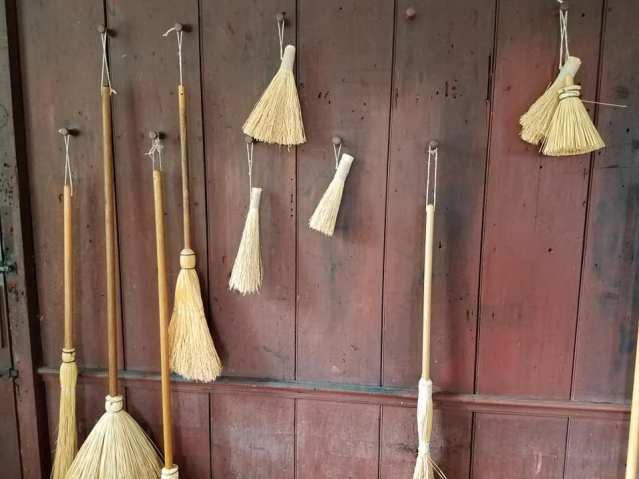 brooms and brushes PhilipCoons