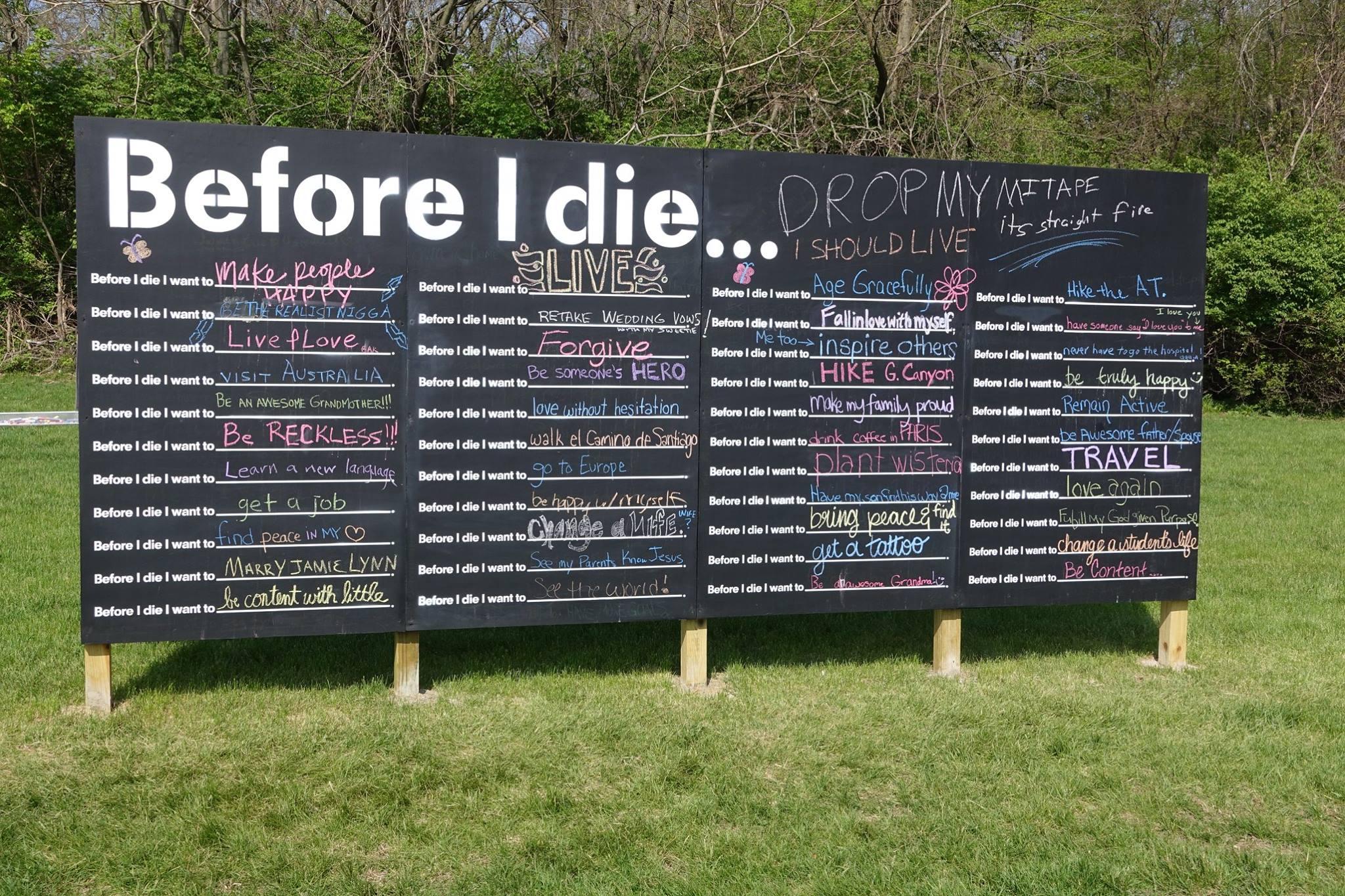 before i die PhilipCoons