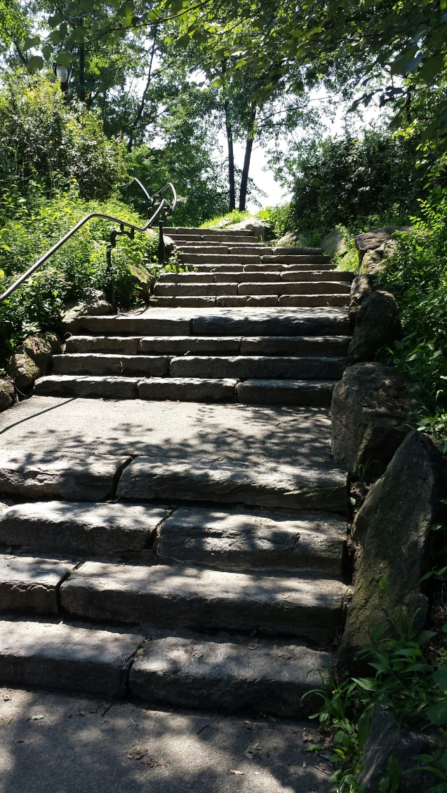 Central park stairs NaamaYehuda