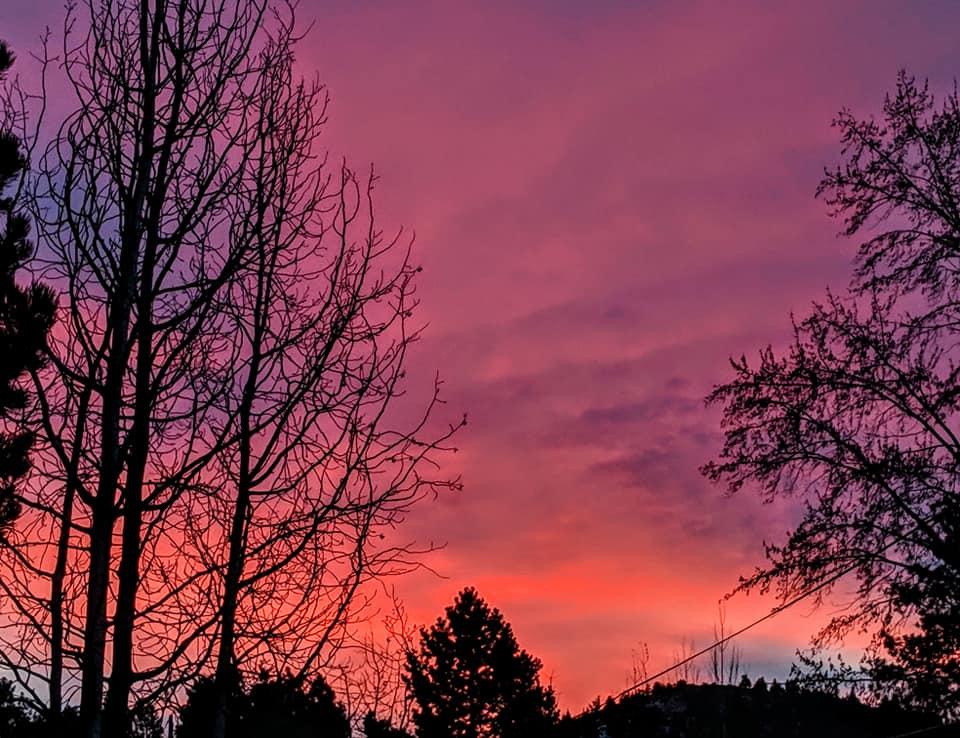 pink sunrise KarenForte